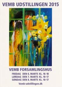 Vemb-udstillingen 2015 plakat